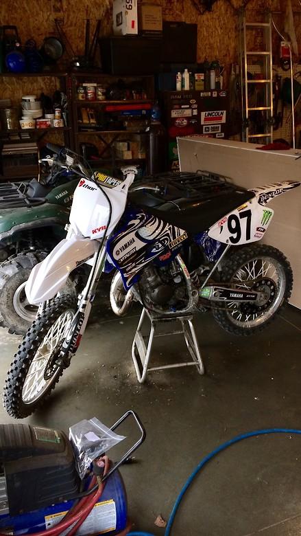 1997 Yamaha Yz125