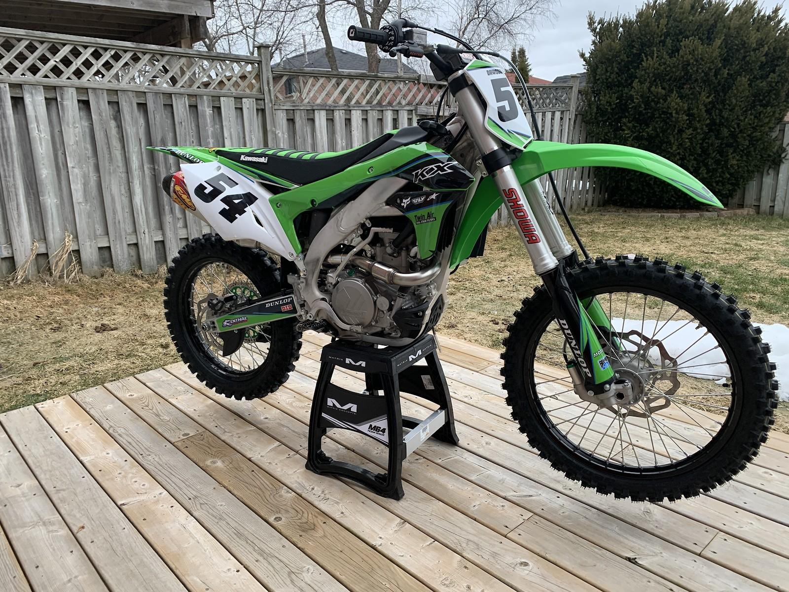 2018 KX450F