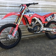 2018 Aspire Racewear Team CRF250R