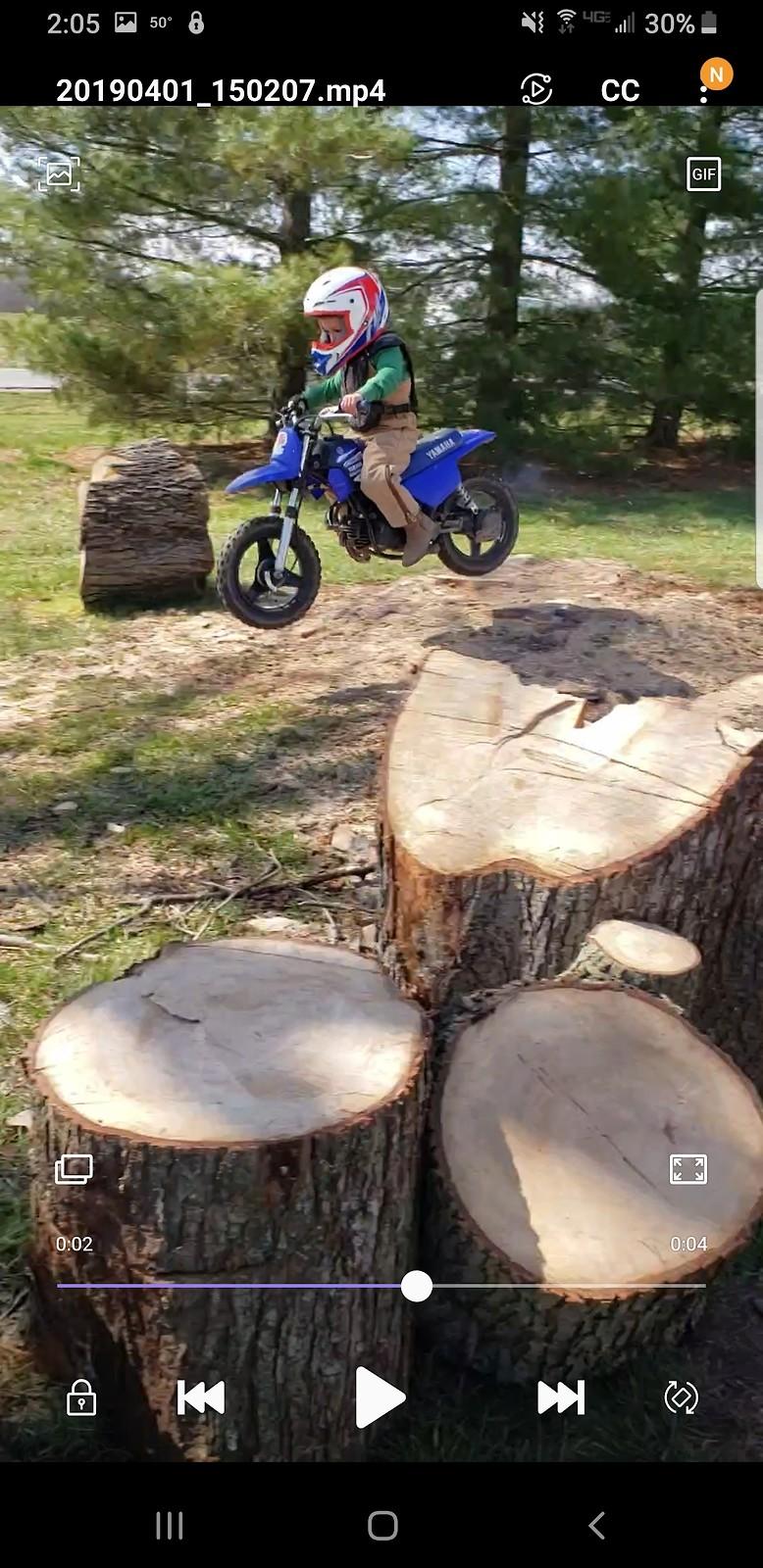 Jake's last ride on Yamaha pw50 - JkF2014** - Motocross Pictures - Vital MX