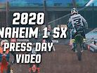 2020 Anaheim 1 Supercross Press Day