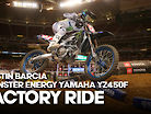 FACTORY RIDE: Justin Barcia Monster Energy Yamaha YZ450F