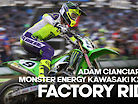 FACTORY RIDE: Adam Cianciarulo Monster Energy Kawasaki KX450