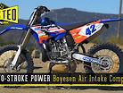 Two-Stroke Power | Boyesen Air Intake Comparison