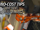 15 No-Cost Tips To Improve Bike Performance