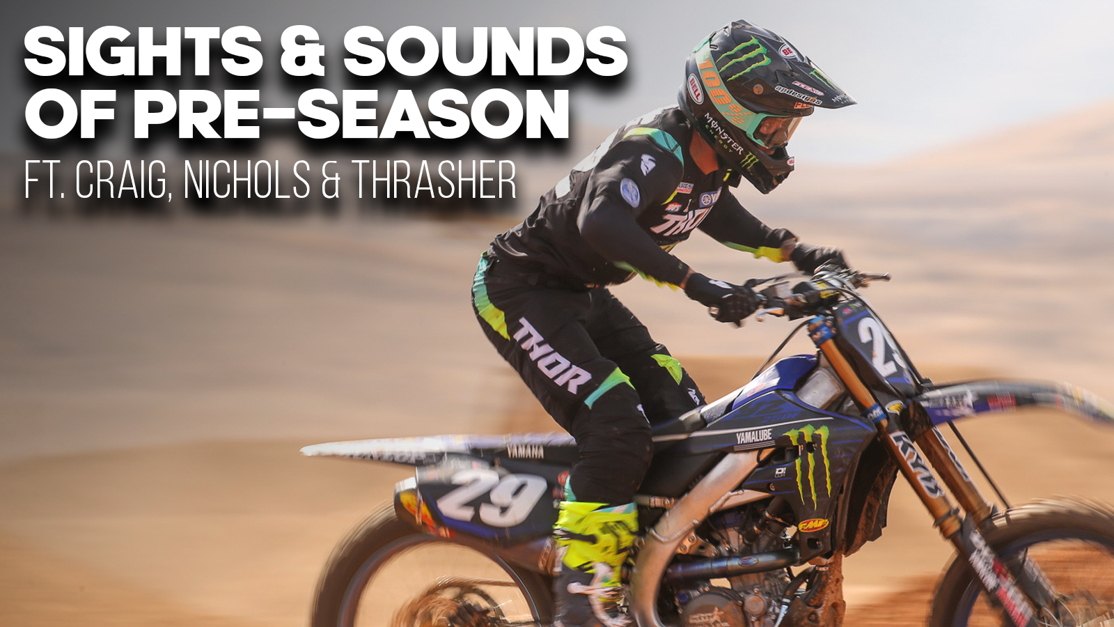 | RAW | Sights & Sounds of Pre-Season ft. Craig, Nichols & Thrasher