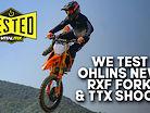 We Test Ohlins New RXF Fork and TTX Shock