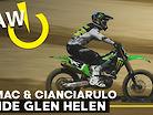 RAW | Tomac and Cianciarulo Ride Glen Helen