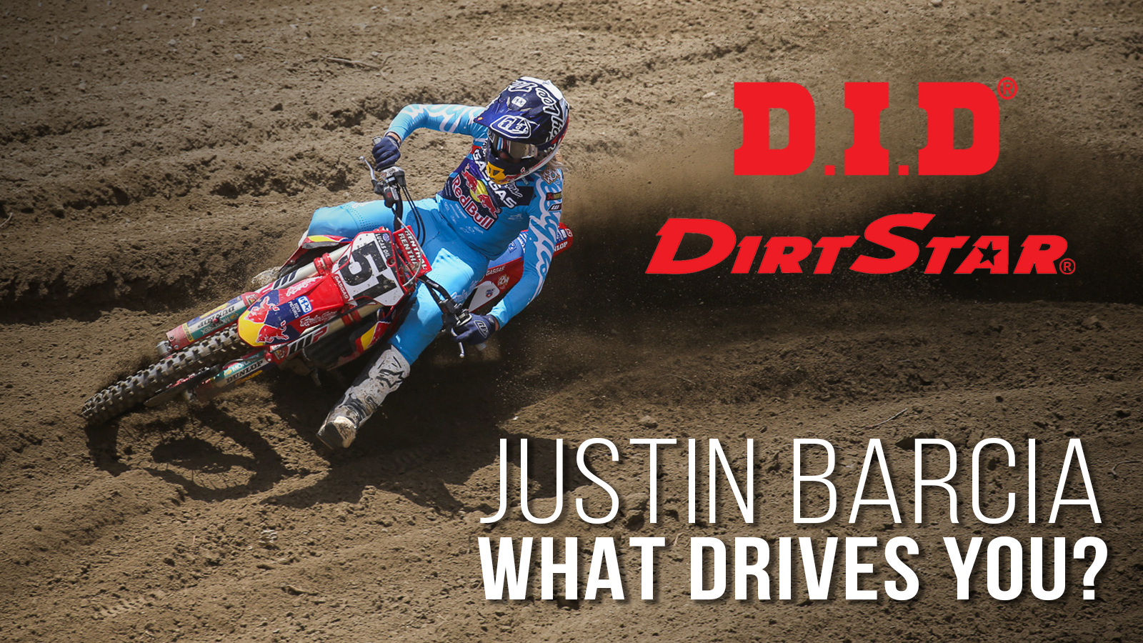 Justin Barcia - What Drives You? - D.I.D DirtStar