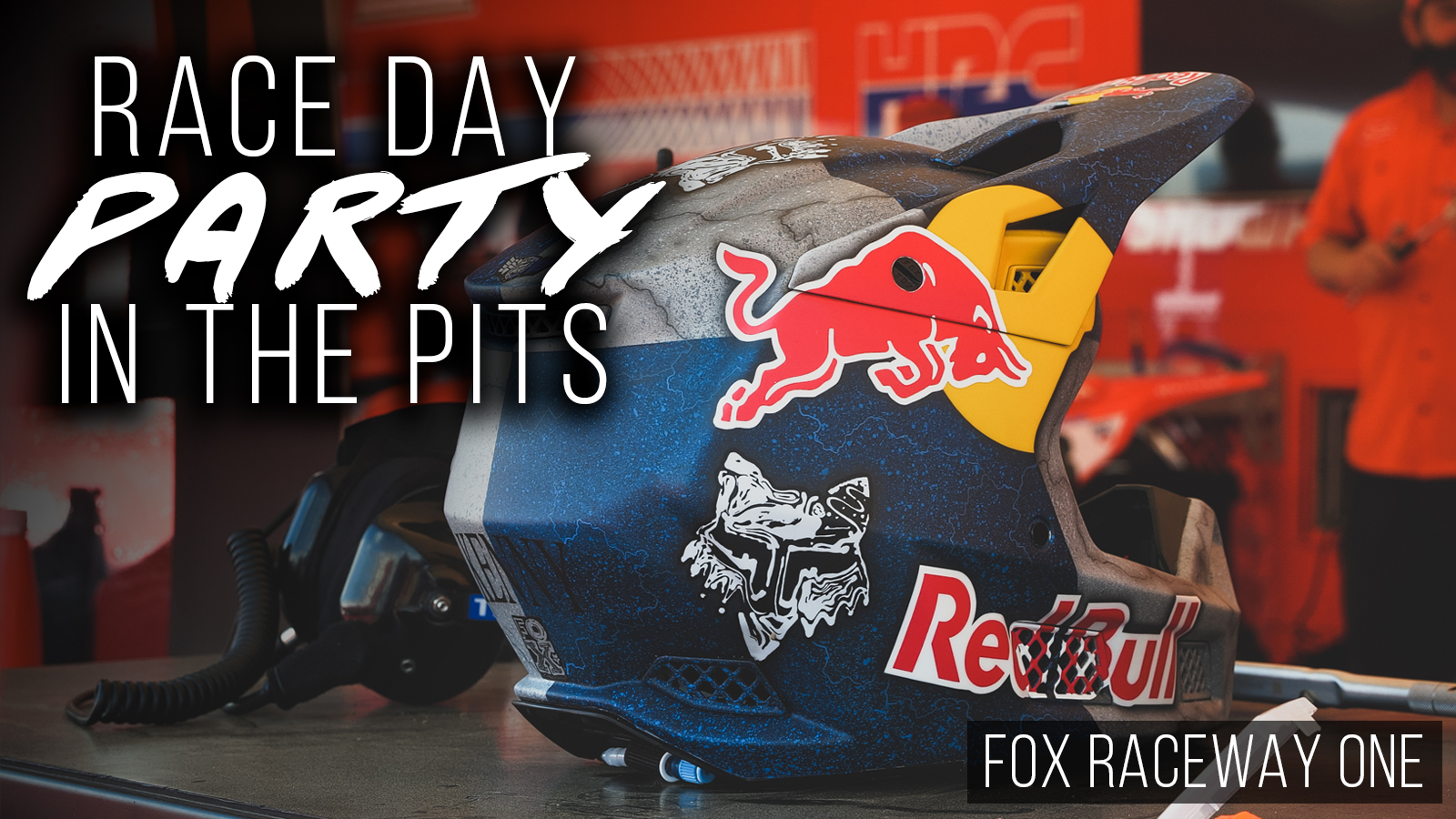 Race Day Party In the Pits   Fox Raceway One