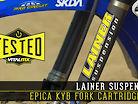 Tested: Lainer Suspension Epica KYB Fork Cartridge Kit