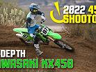 In-Depth 2022 450 Shootout: 2022 Kawasaki KX450