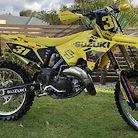Suzuki rm125 restyle