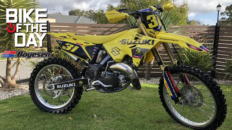 Suzuki rm125 restyle - Jayden_Norton's Bike Check - Vital MX