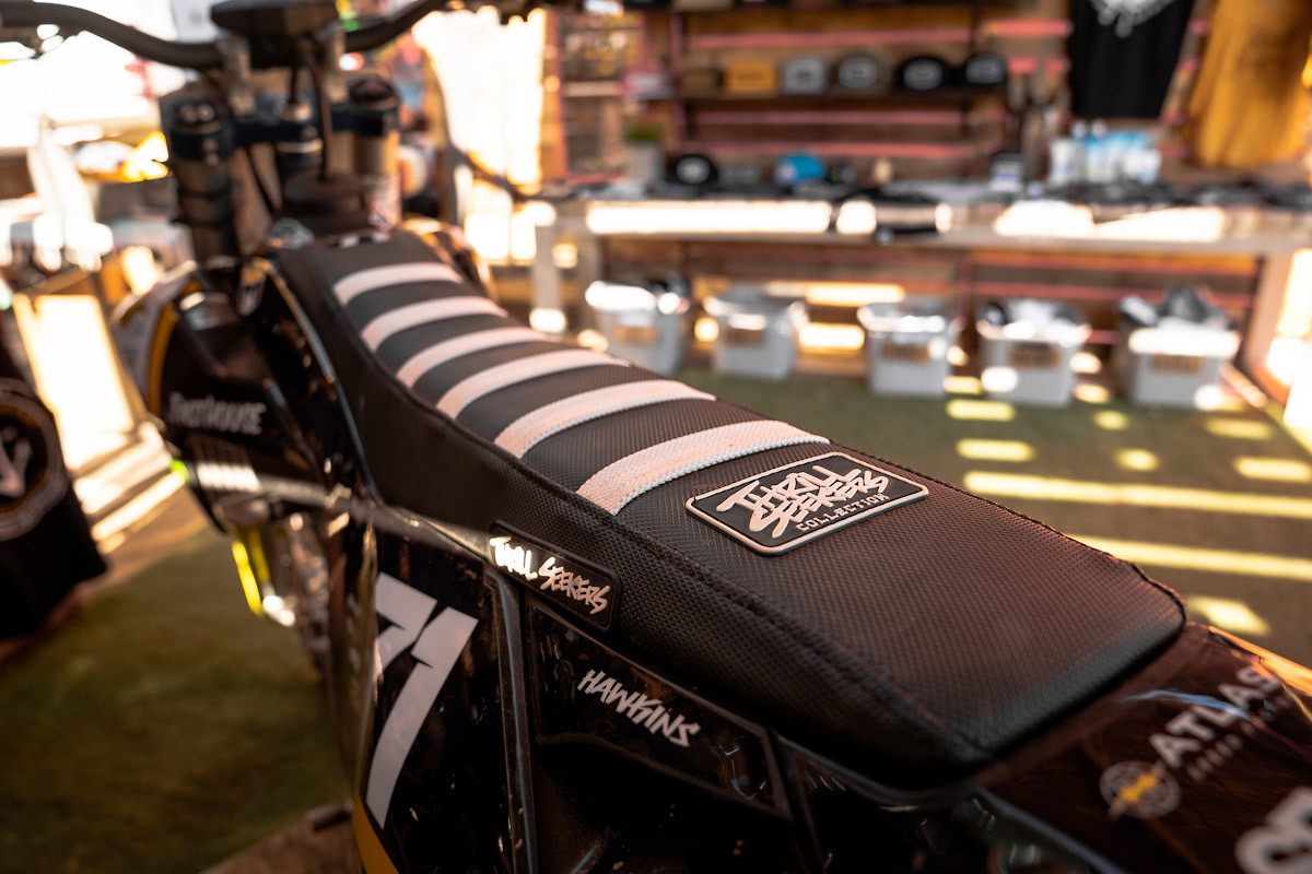 Talon Hawkins Thrill Seekers Seat Cover - Thrill Seekers - Motocross Pictures - Vital MX