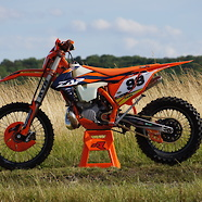 Ktm XC 250 2018 Zap Factory Team Bike