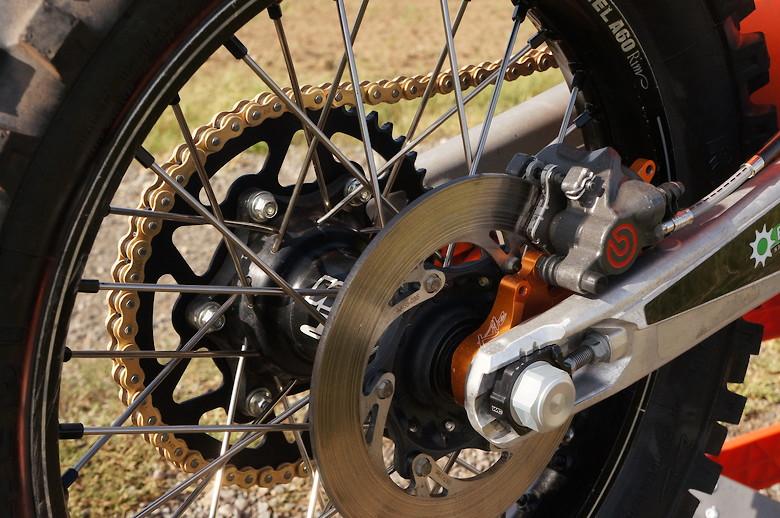 Ktm XC 250 2018 Zap Factory Team Bike