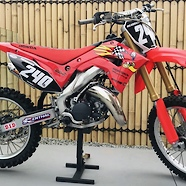 2002 Honda CR125 Fonseca factory look