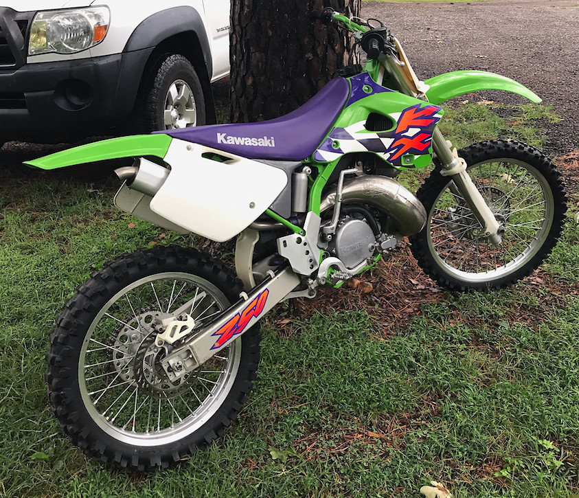 1997 KX250 Unrestored