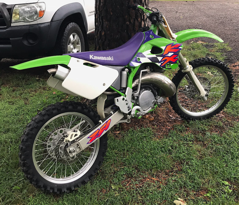 1997 KX250 Unrestored