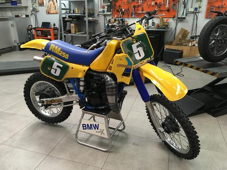 Suzuki rm 250 1984