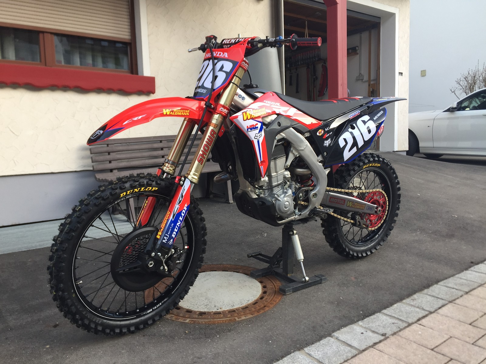 Honda CRF 450 Factory Edition