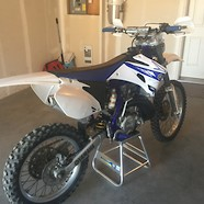1995 WR250 Restyle
