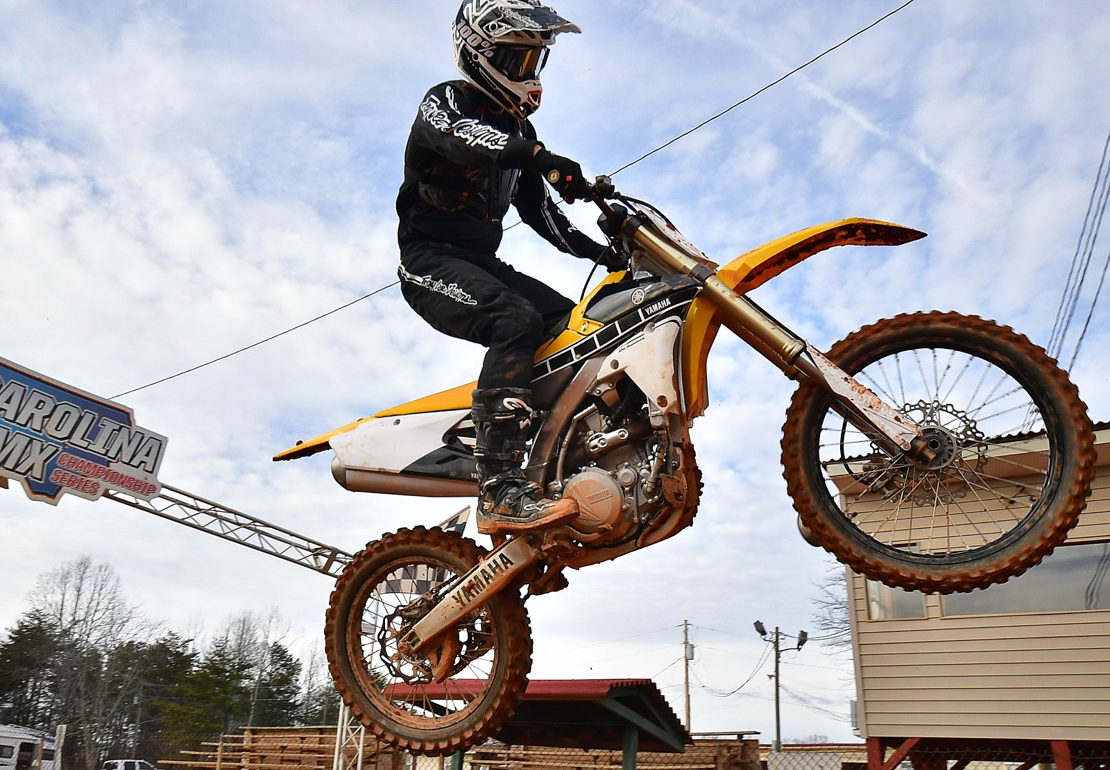 Finish Jump 2 - Poteat1985 - Motocross Pictures - Vital MX