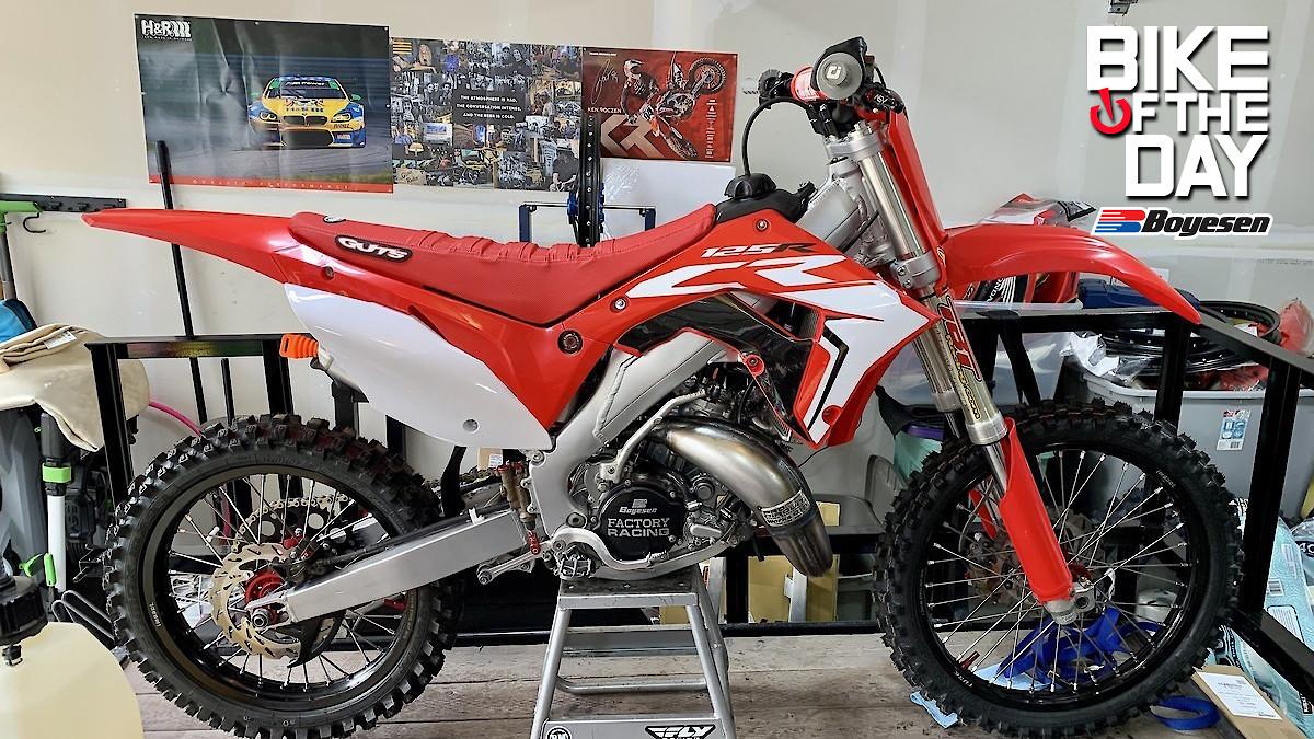 TunaBro's 03' CR125