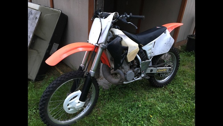 Newest project  95 cr250