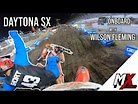 GoPro Onboard: Wilson Fleming - Daytona Supercross 250 Heat 1