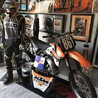 2000 Factory Team KTM 125 for Donovan Mitchell Supercross/Motocross