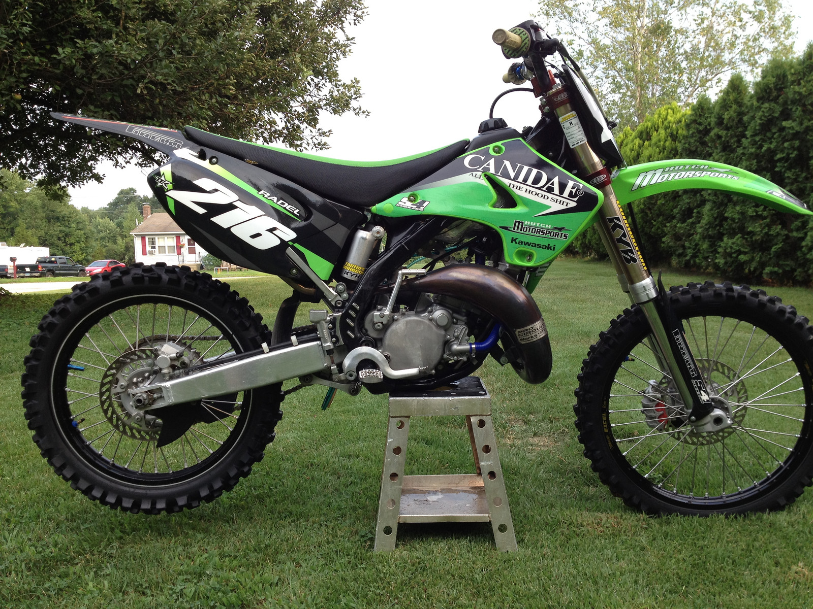 My 2003 kx 125 - Derek216's Bike Check - Vital MX