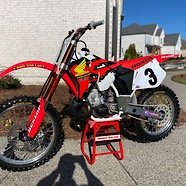 1995 CR250 McGrath Tribute