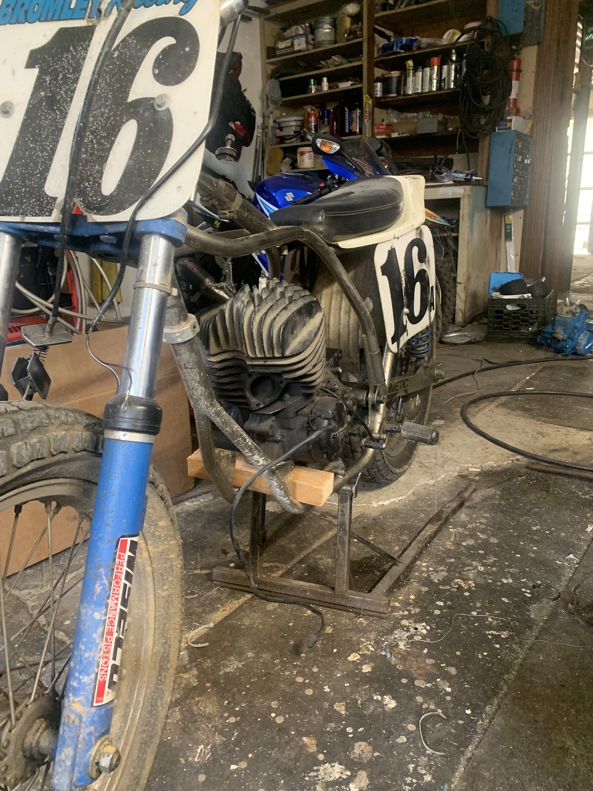 """Rm465 flat tracker """"patches"""""""