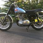 1957 BSA Gold Star Competition Scrambler on ebay