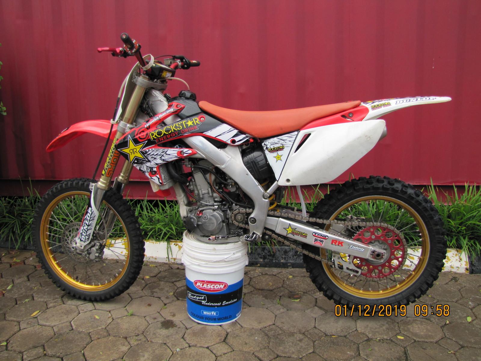 MY08 Honda crf250r