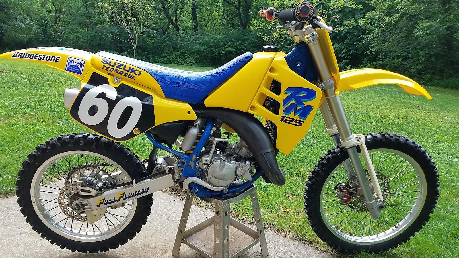 1990 Suzuki RM125