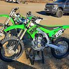 Steve Lucero's Kawasaki