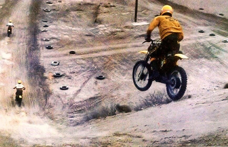 The Big Down Hill - Coach Manning - Motocross Pictures - Vital MX