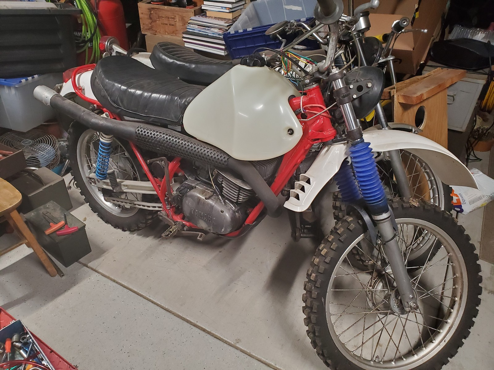 1971 Yamaha RT1-B 360 Enduro