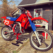 1984 Honda CR125 projectbike