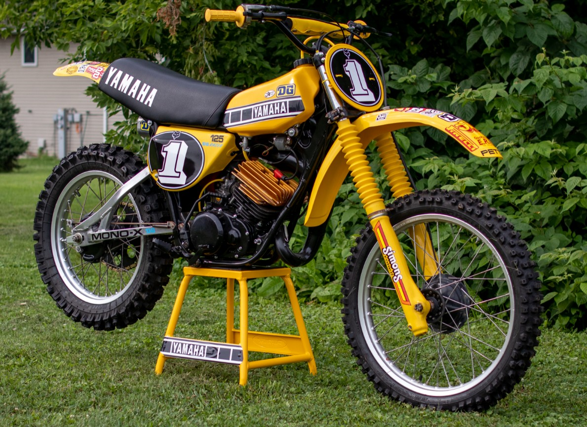 1978 Yamaha YZ125e - GForce MMG - Motocross Pictures - Vital MX