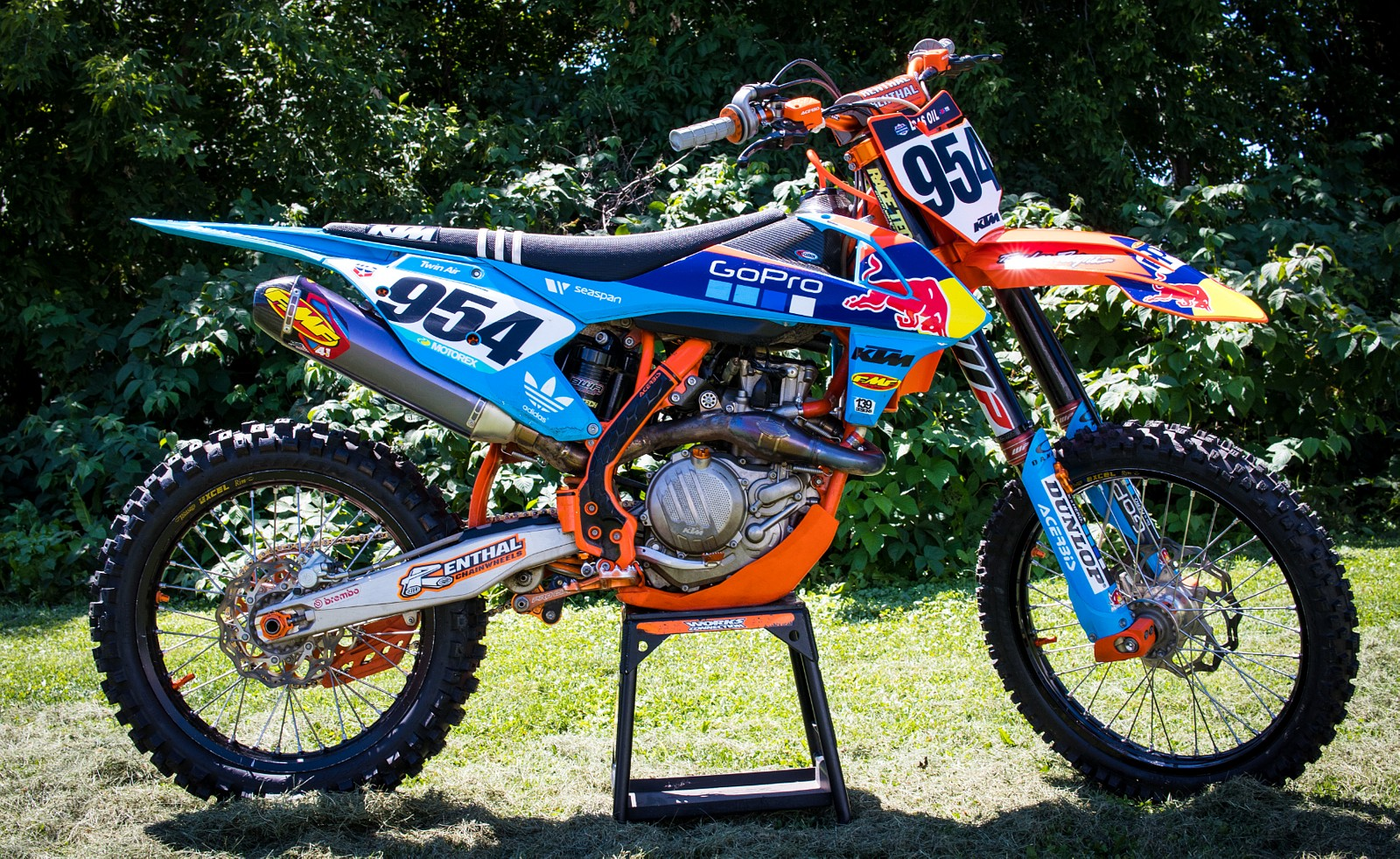 Factory Edition 2016.5 KTM 450SXF - GForce MMG - Motocross Pictures - Vital MX