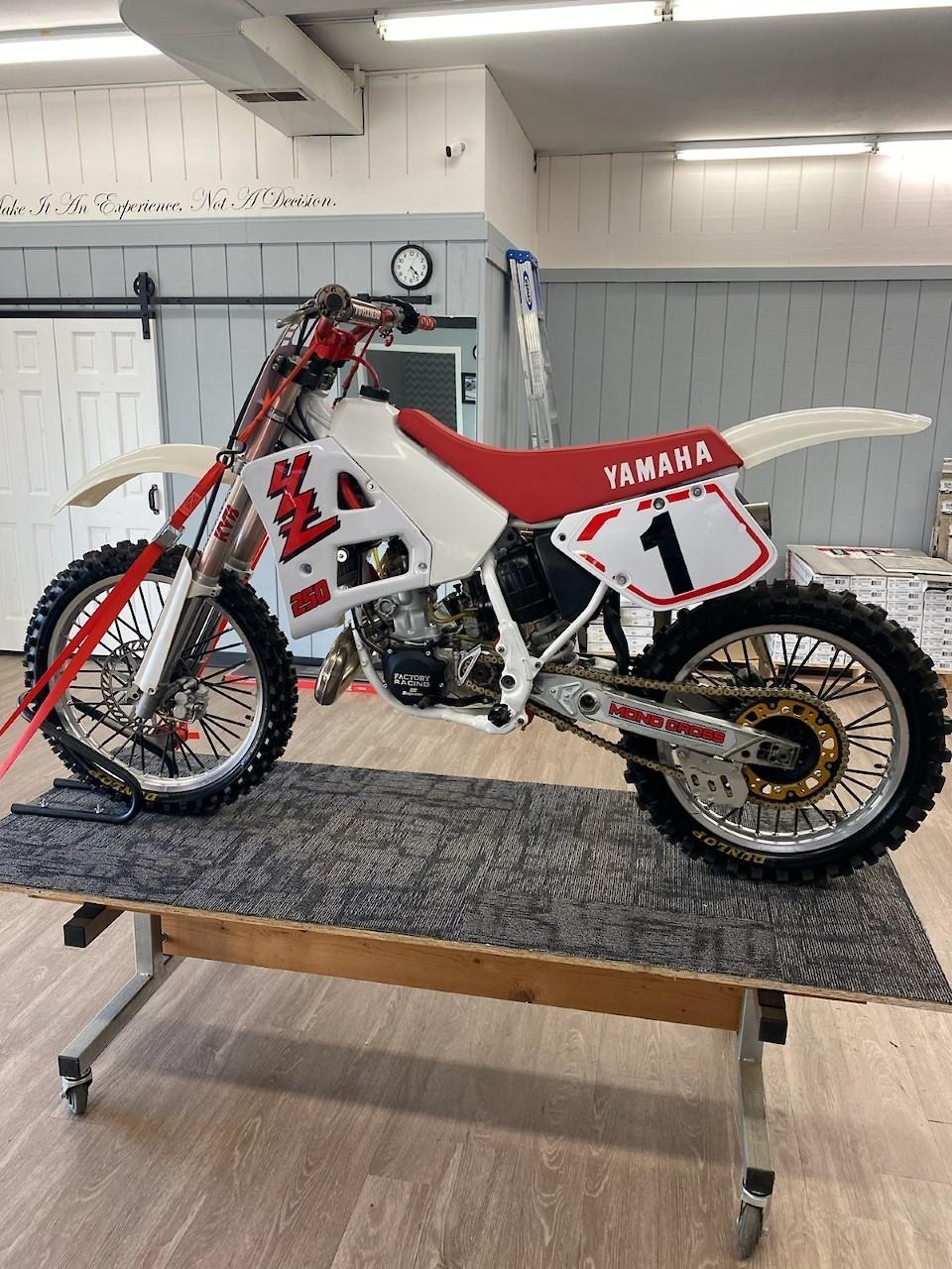 1989 YZ250