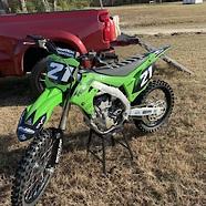 Reid Waddell's Kawasaki