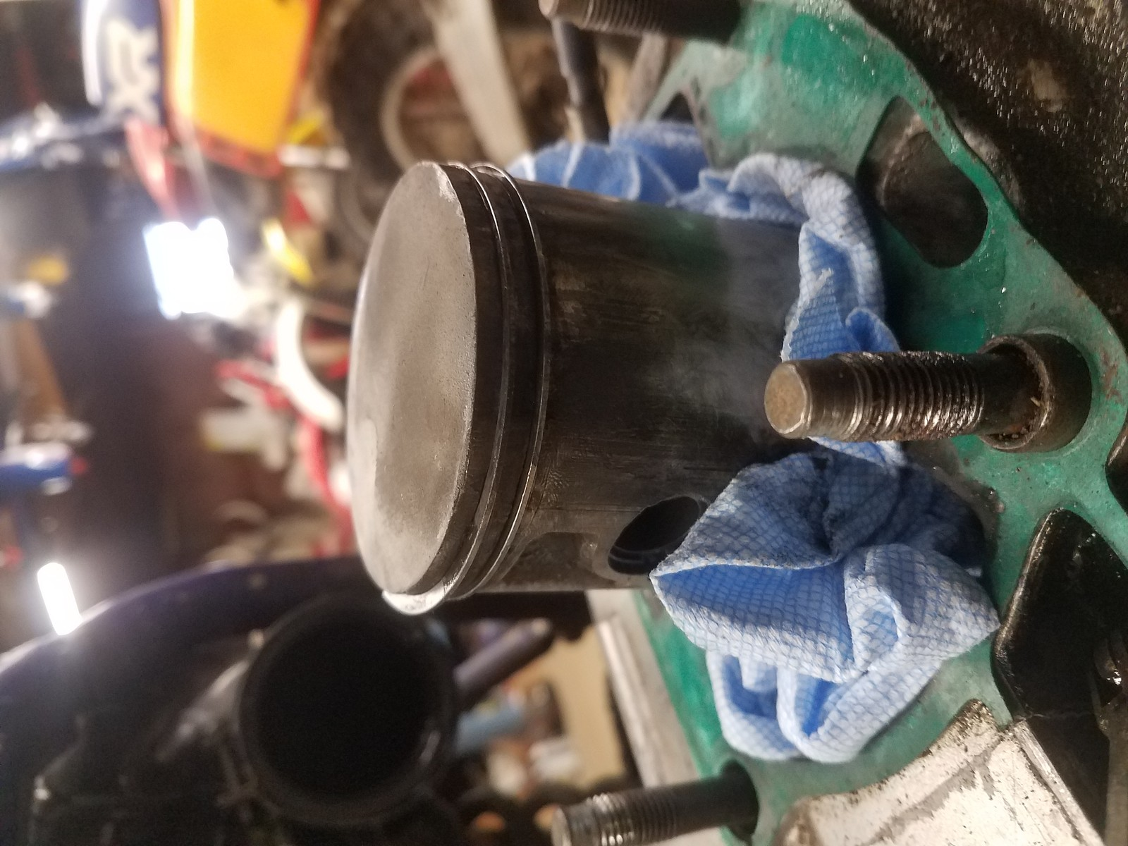 Fried piston - mpeters - Motocross Pictures - Vital MX