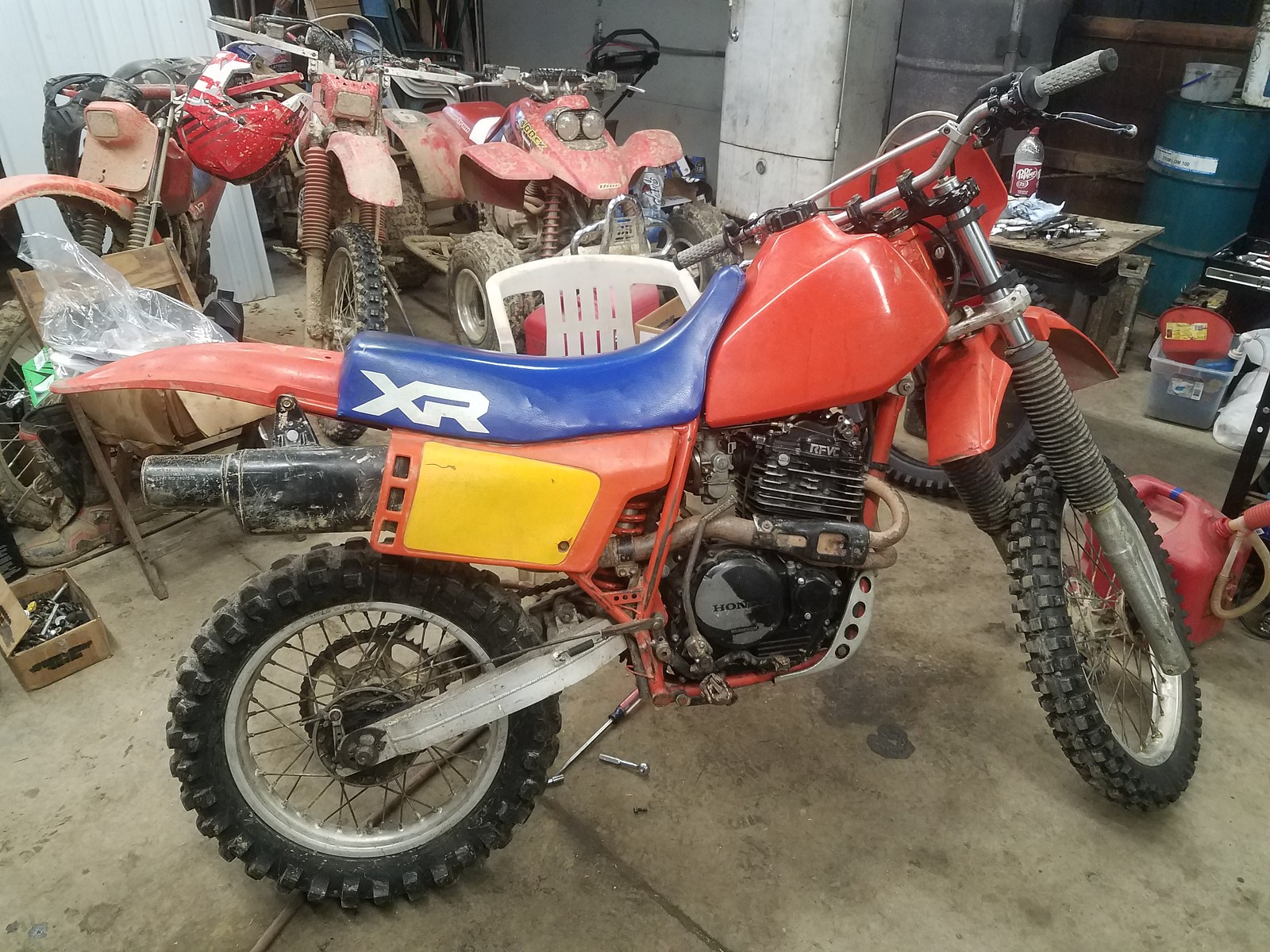 1984 xr500 - mpeters - Motocross Pictures - Vital MX