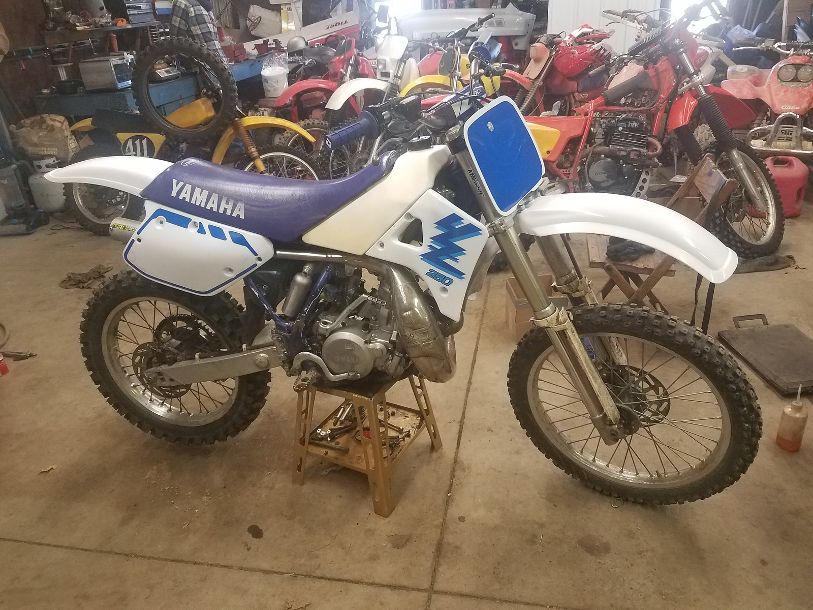 1989 Yamaha YZ250  - mpeters - Motocross Pictures - Vital MX