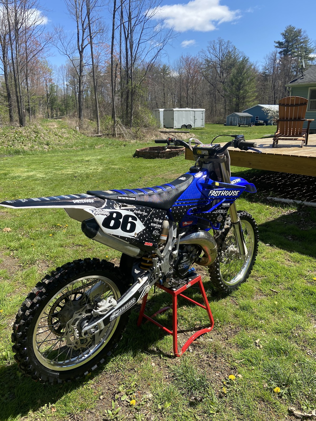 Joel Burton86's Yamaha